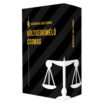 Webáruház Jogi Csomag: Költségkímélő csomag